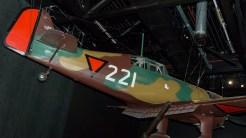 Fokker D-XXI mock-up KLU 221