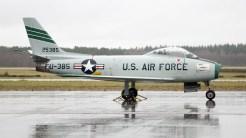 North American F-86F Sabre USAFE 52-5385 FU-385