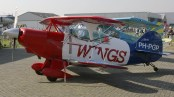 Pitts S-2 Special PH-PGP Wings over Holland