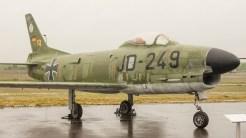 North American Fiat F-86K Sabre Luftwaffe JD-249