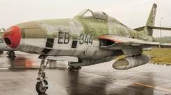 Republic RF-84F Thunderflash DDR air force EB-344
