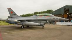 General Dynamics Fokker F-16BM Fighting Falcon 401 J-066 Netherlands air force