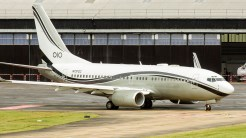 Boeing 737-74Q BBJ Mid East Jet N737CC s