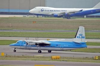 Fokker 50 PH-LXJ KLM Cityhopper