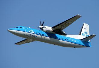 Fokker 50 PH-LXP KLM Cityhopper