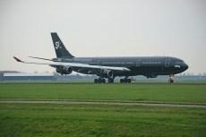 Airbus A340-313 9H-TQM Swiss Space Systems (HiFly Malta)