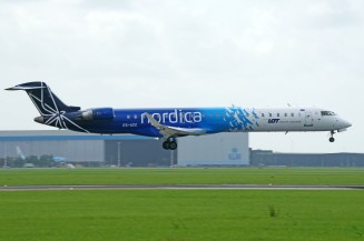 Bombardier CRJ-900ER ES-ACC Nordica