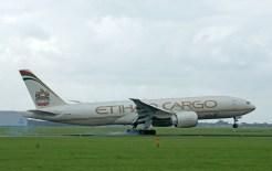 Boeing 777-FFX A6-DDB Etihad Airways Cargo