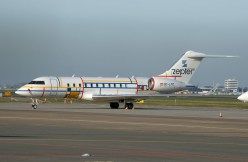 Bombardier Global 5000 OE-LPZ ZeptAir