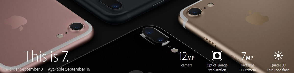 Apple Unveils iPhone 7 & iPhone 7 Plus: UK Price, Release Date, Key Features & More