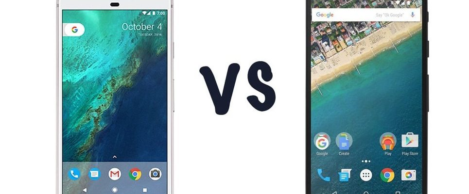 Nexus 5X vs. Google Pixel: Comparing the Key Differences