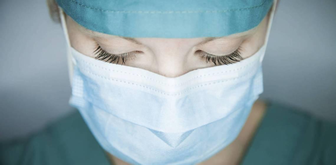 enfermera infectada por covid