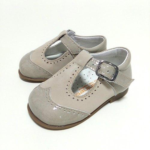 pepito niño beige. zapatos bebe andanines