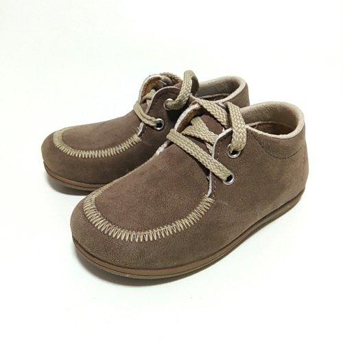 zapato taupe cordón
