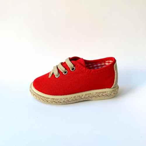 zapatillas de lona para vestir