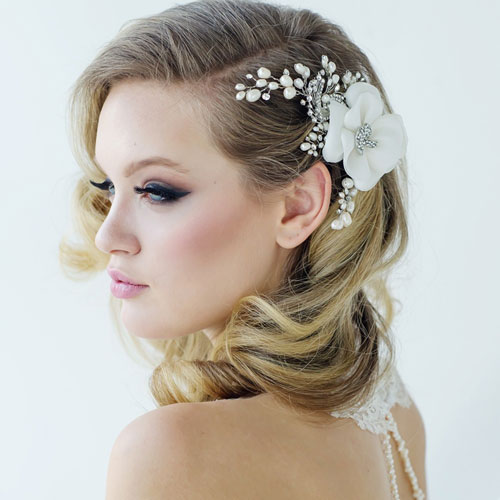 Vintage Flower Hair Accessory Mara