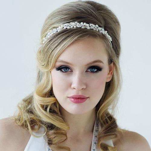 Pearl Vine Headband Paloma Zaphira Bridal