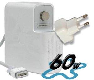 Adapt. para Macbook 60 W conector Magsafe 1