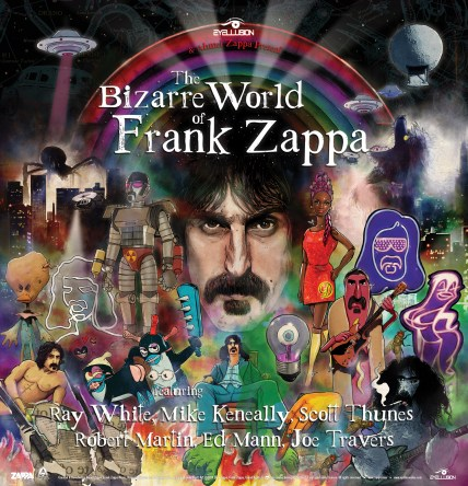 Image result for bizarre world of frank zappa