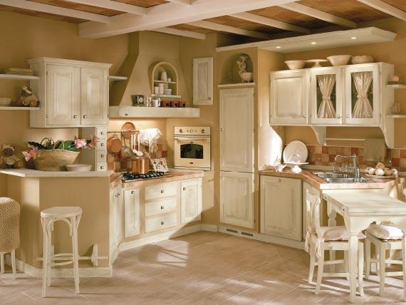 Cucine In Muratura Antiche - Idee per la progettazione di ...