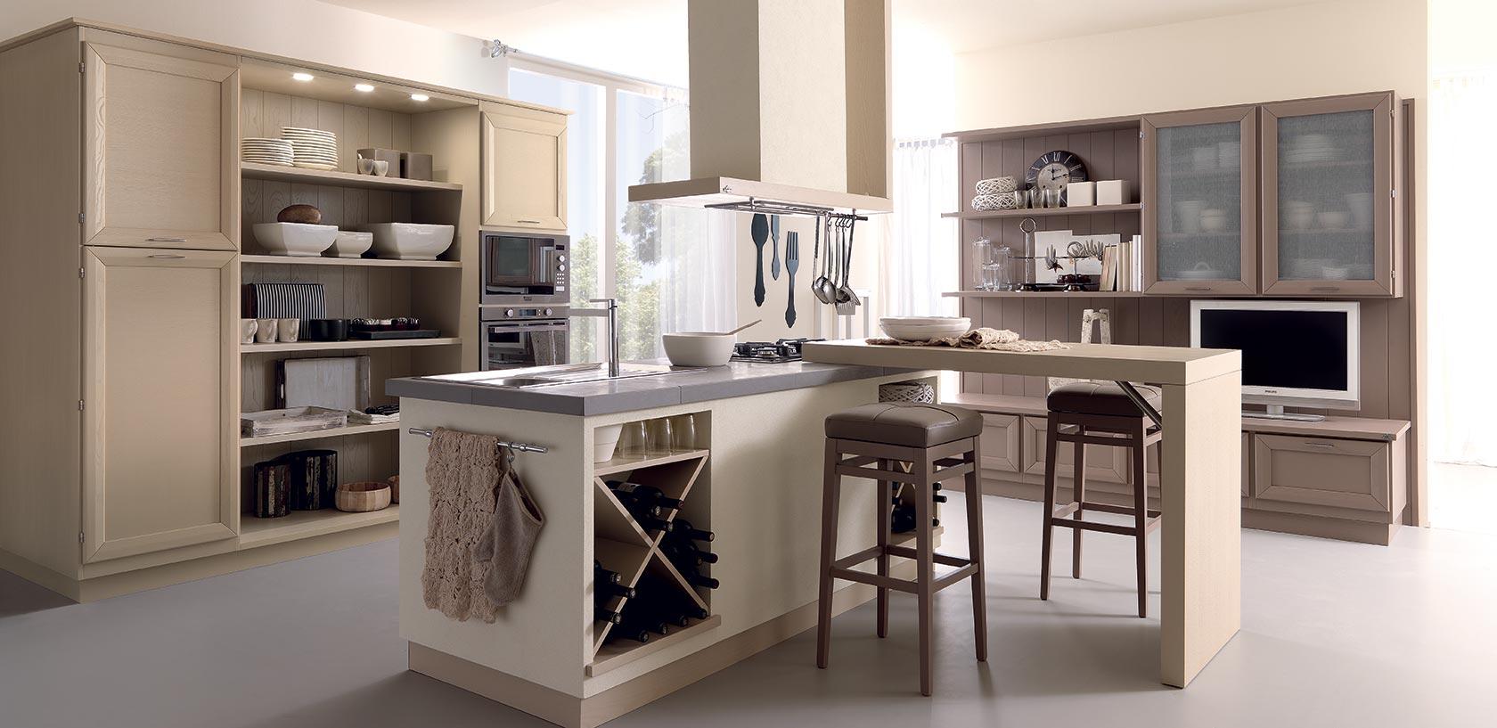 Le cucine in legno massello  Zappalorto