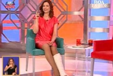"""Conceição Lino discute com realizadora do """"Boa Tarde"""" e esta é afastada"""
