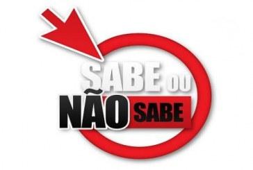 """Nova temporada de """"Sabe ou Não Sabe"""" estreia no próximo sábado"""