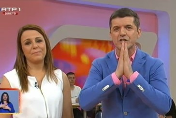 João Baião «superfeliz» com a gravidez de Tânia Ribas de Oliveira
