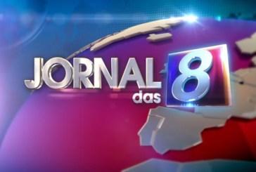 """""""Jornal das 8"""" foi o programa mais visto deste domingo"""