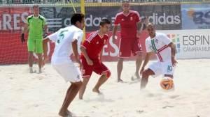 Campeonato do Mundo de Futebol de Praia.