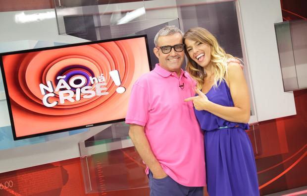 """""""Não Há Crise!"""": Rita Andrade elogia João Ricardo"""