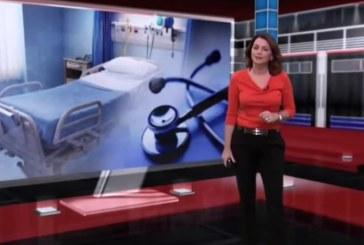 Cristina Reyna e operador de câmara assustam-se em direto com explosão em estúdio [vídeo]