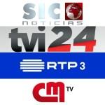 Audiências: E assim foram as Eleições Legislativas 2019 na SIC Notícias, TVI24, RTP3 e CMTV