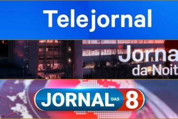 """""""Jornal da Noite"""" cresce, mas """"Jornal das 8"""" lidera audiências"""