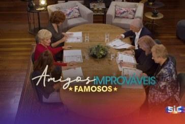 """SIC já promove """"Amigos Improváveis Famosos"""". Veja o vídeo!"""