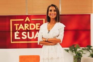 """Audiências: E assim terminou a estadia de Mónica Jardim no """"A Tarde é Sua"""""""