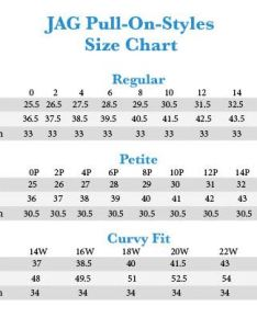 Jag jeans pull on size chart also plus peri straight in after rh zappos