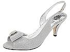 J. Renee - Dayna (Silver Glimmer Fabric) - Footwear