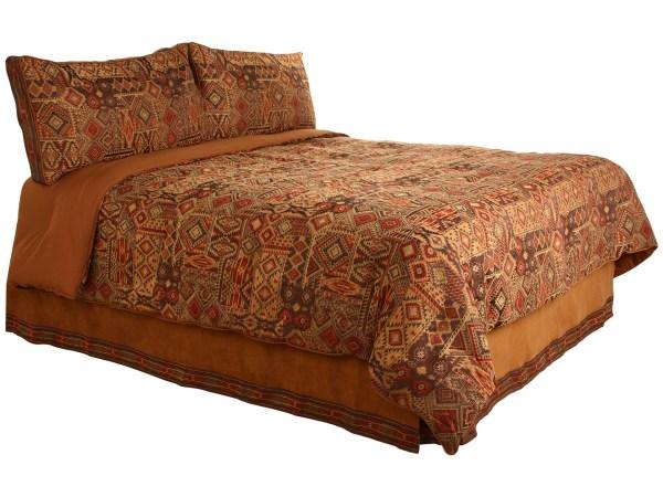 Croscill Yosemite Comforter Set King Brown Shipped Free Zappos