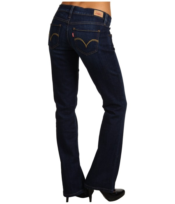 Levis Juniors 524 Boot Cut Pocket Embellishment Shipped Free Zappos