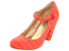 Poetic Licence - The Right Stripes (Orange/Pink) - Footwear