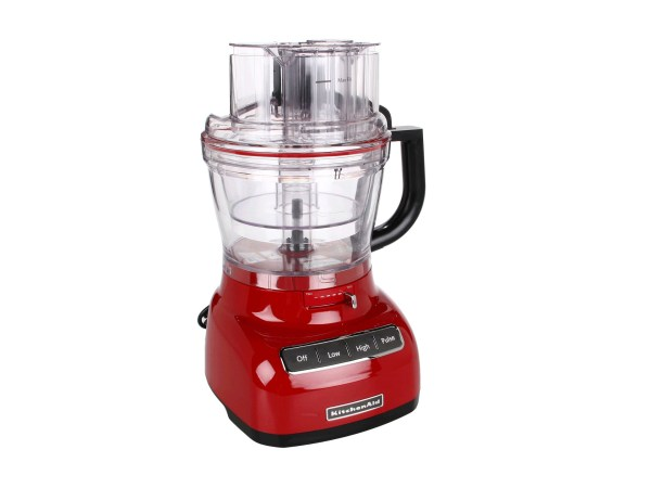 Kitchenaid Kfp1333 Food Processor With Mini Bowl 13 Cup Empire Red Shipped Free Zappos