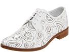 Jil Sander - JS18362 (Talco Paisley Perforated Calf) - Footwear