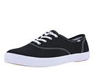 Keds - Champion-Canvas CVO (Black Canvas) - Footwear