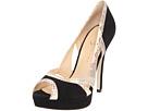 Ivanka Trump - Apryls (Black Suede/Natural Snake) - Footwear