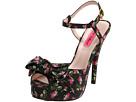 Betsey Johnson - Haylie (Black Leather) - Footwear