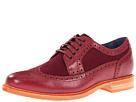 Cole Haan - Cooper Square Wingtip (Cordovan/Cordovan Wool) - Footwear