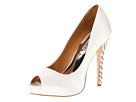 Badgley Mischka - Vixen (White Satin) - Footwear