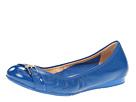 Cole Haan - Air Reesa Buckle Ballet (Empire Blue/Empire Blue Patent) - Footwear