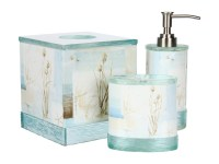 Avanti Blue Waters 3 Piece Bath Accessory Set | Shipped ...